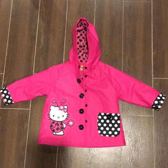 e19cefc37 Western Chief Jackets & Coats | Hello Kitty Rain Coat | Poshmark